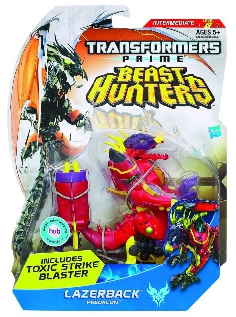 Hasbro Transformers Lovci příšer se střílecímí projektily