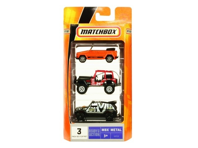 Mattel Matchbox MBX angličák 3pack