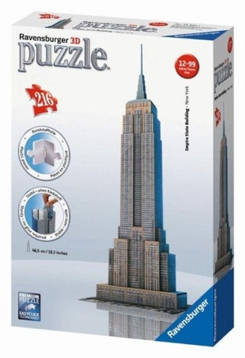 3D Empire State Building 216 - Ravensburger