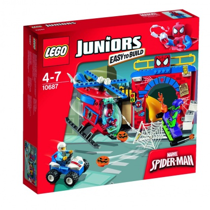 LEGO Juniors 10687 Spider-Manova™ skrýš