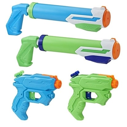Hasbro NERF Super Soaker Floodt ic 4 ks blástrů