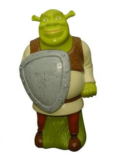 3D Shrek pěna do koupele