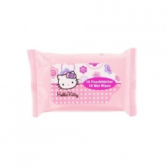 Hello Kitty Flowers Vlhčené utěrky -15ks