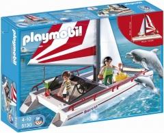 Playmobil Katamarán s delfíny