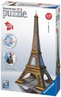 Eifelova věž 3D 216 dílků