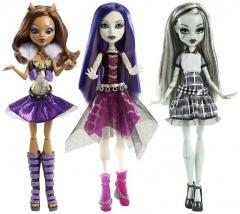 Monster High oživlá příšerka (assort)