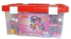 Stavebnice SEVA pro dívky 1 JUMBO