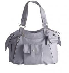 Přebalovací taška Velvet šedá