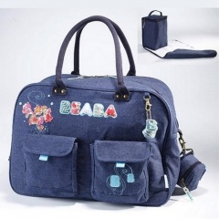 Přebalovací taška Denim