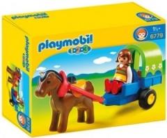 Playmobil 6779 Kočárek s poníky