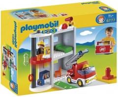 Playmobil 1.2.3. 6777 Přenosná hasičská stanice