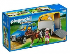 Playmobil 5223 Terénní auto s přívěsem