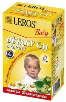 Leros Baby dětský čaj bylinný