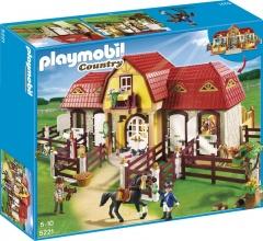 Playmobil 5221 Velká koňská farma s výběhem