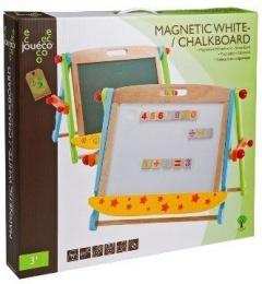 Johntoys Dřevěná magnetická/křídová tabule