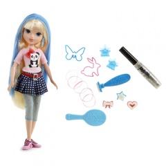 MGA Moxie Girlz Magické vlasy s kouzelnými razítky