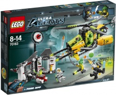 Lego Agents 70163 Toxikitovo toxické rozpuštění