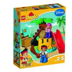 Lego Duplo 10604 Jake a piráti ze Země Nezemě: Ostrov pokladů
