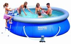 Bazén Bestway Fast set 2,44 x 0,66m kartušová filtrace
