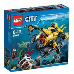 Lego City 60092 Hlubinná ponorka