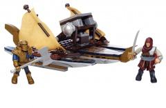 Mega Bloks Assassin's Creed válečná loď