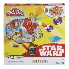 Hasbro Play-Doh Star Wars millenium falcon
