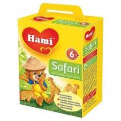 Hami Safari dětské sušenky