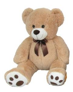 Plyšový medvídek 60 cm, béžový