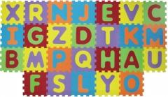 Puzzle pěnové písmena 199x115 cm