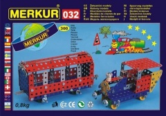 Stavebnice MERKUR Železniční modely 032