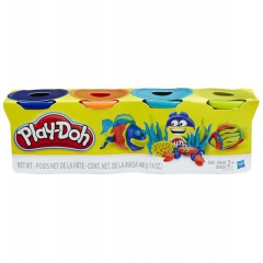 Hasbro Play-Doh Balení 4 tub assort
