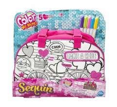Color me mine Sequin kabelka