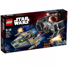 LEGO® Star Wars 75150 Vaderova stíhačka TIE Advanced vs. stíhačka A-Wing