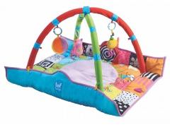 Hrací deka s hrazdou pro novorozence - Taf Toys