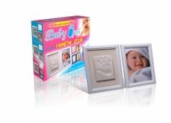 BABY OTISK - rámeček bílý
