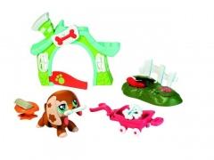 Hasbro Littlest Pet Shop - chodící zvířátka s tématickými doplňky