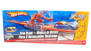 Hot Wheels Trick track Expansion Spin Blade